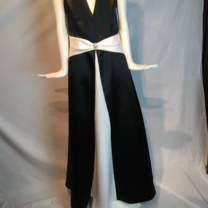 black & white wedding gown by Scott McClintock